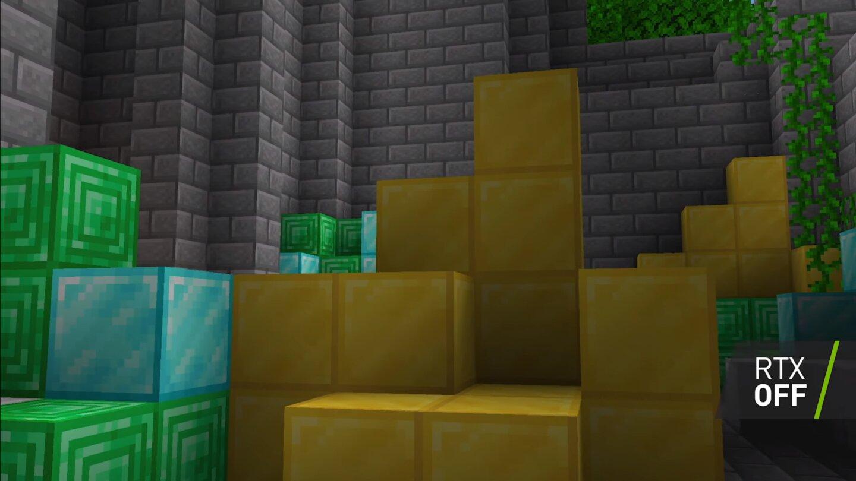 Minecraft ohne Raytracing
