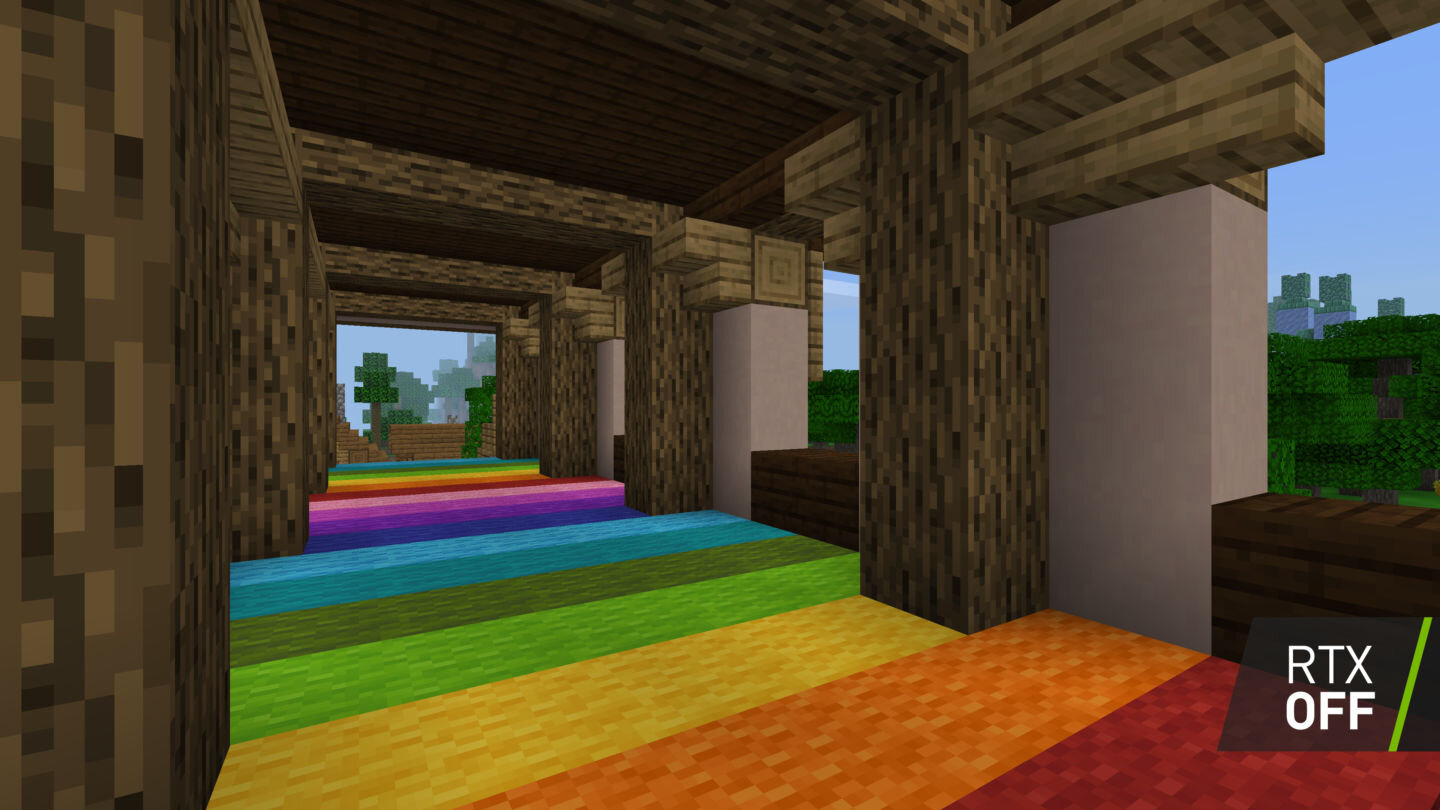Minecraft ohne Raytracing