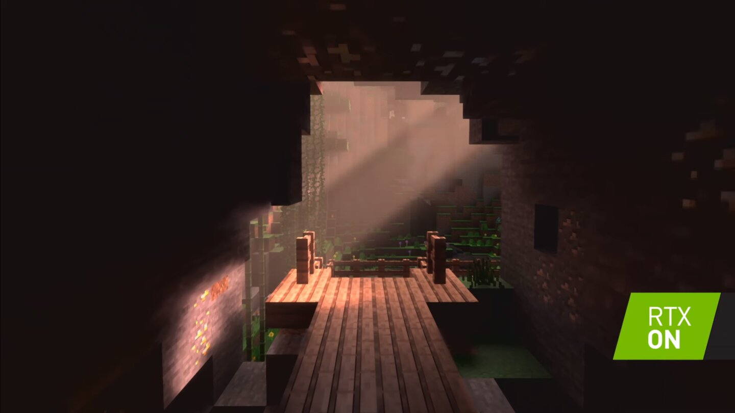 Minecraft mit Raytracing