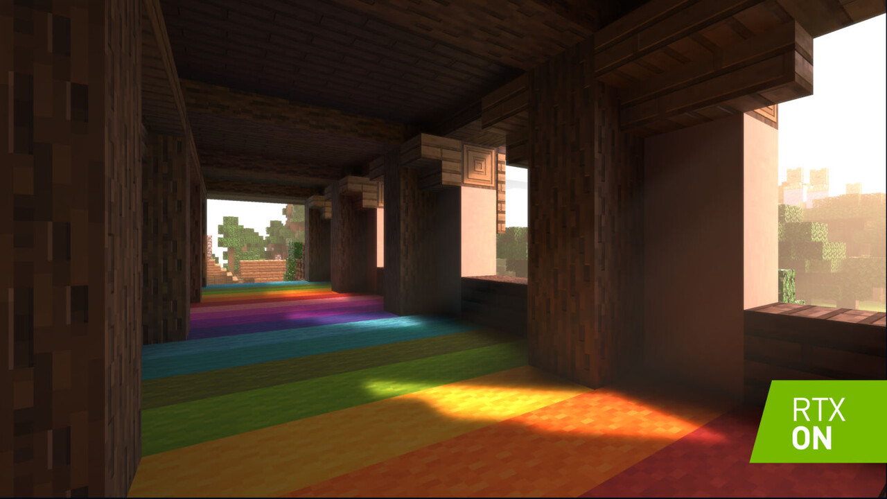 Graphics update: Minecraft gets Raytracing on Nvidia RTX