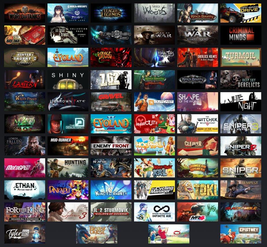 Spiele für Magenta Gaming
