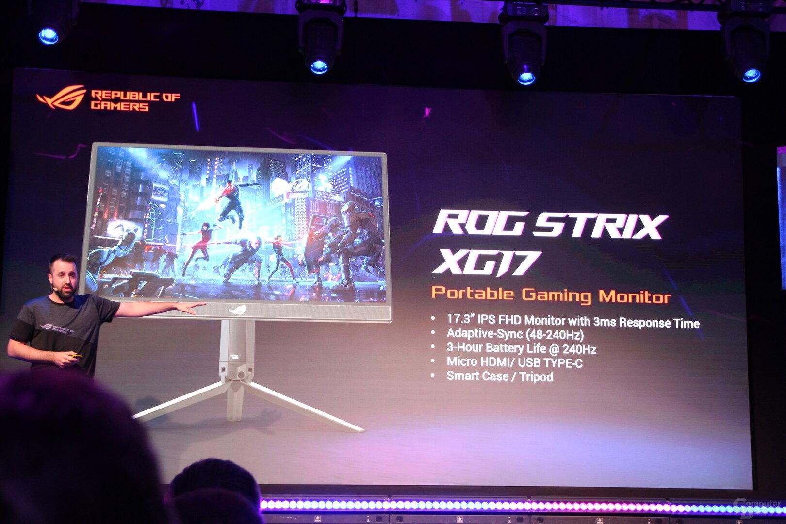 Asus ROG Strix XG17