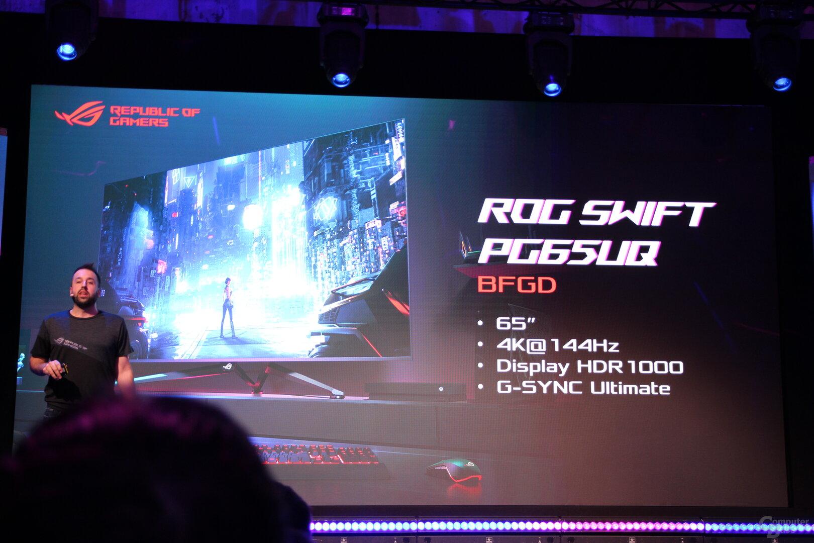 Asus ROG Swift PG65UQ