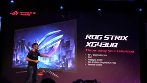 Gamescom 2019: Asus-Monitore von 17 Zoll mit Tripod bis 65 Zoll mit FALD