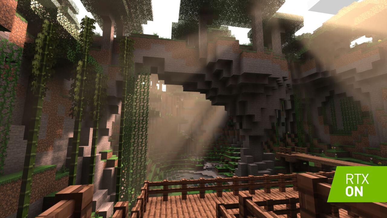 RTX On vs. RTX Off: Control, Minecraft, COD: MW und Synced im Videovergleich