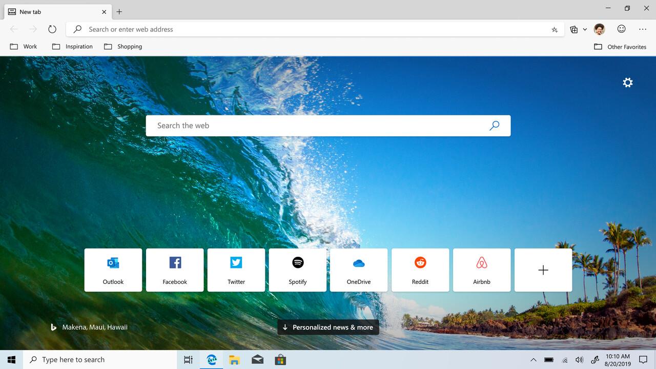 Browser: Beta von Microsoft Edge auf Chromium-Basis veröffentlicht