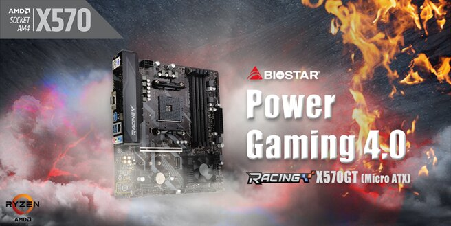 Biostar Racing X570GT – vierte Generation der Racing-Serie