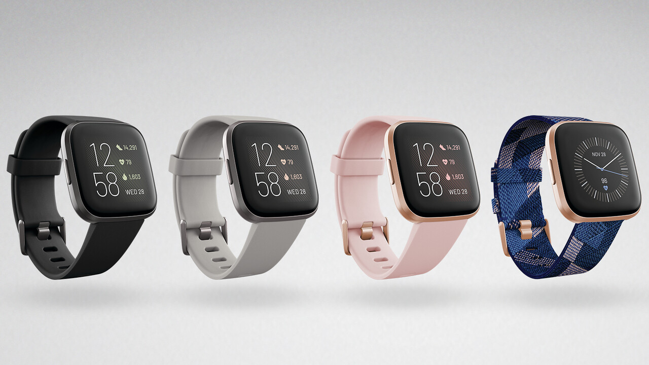 Fitbit Versa 2: Fitness-Smartwatch mit OLED-Display und Amazon Alexa