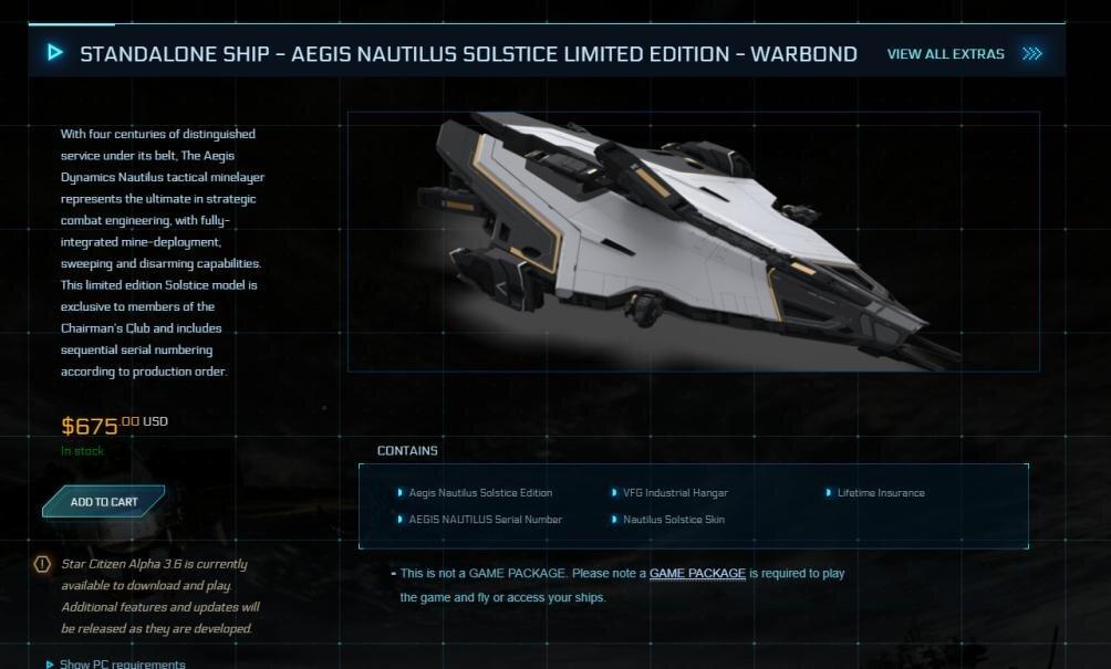 Hinter der Ankündigung steckt ein neues Schiff