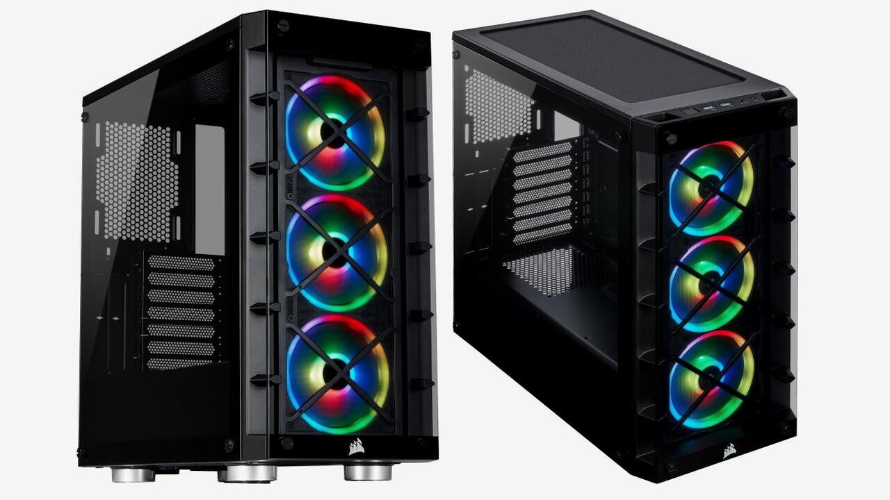 Corsair iCue 465X RGB: Crystal 460X erhält neues Design und iCue-Controller