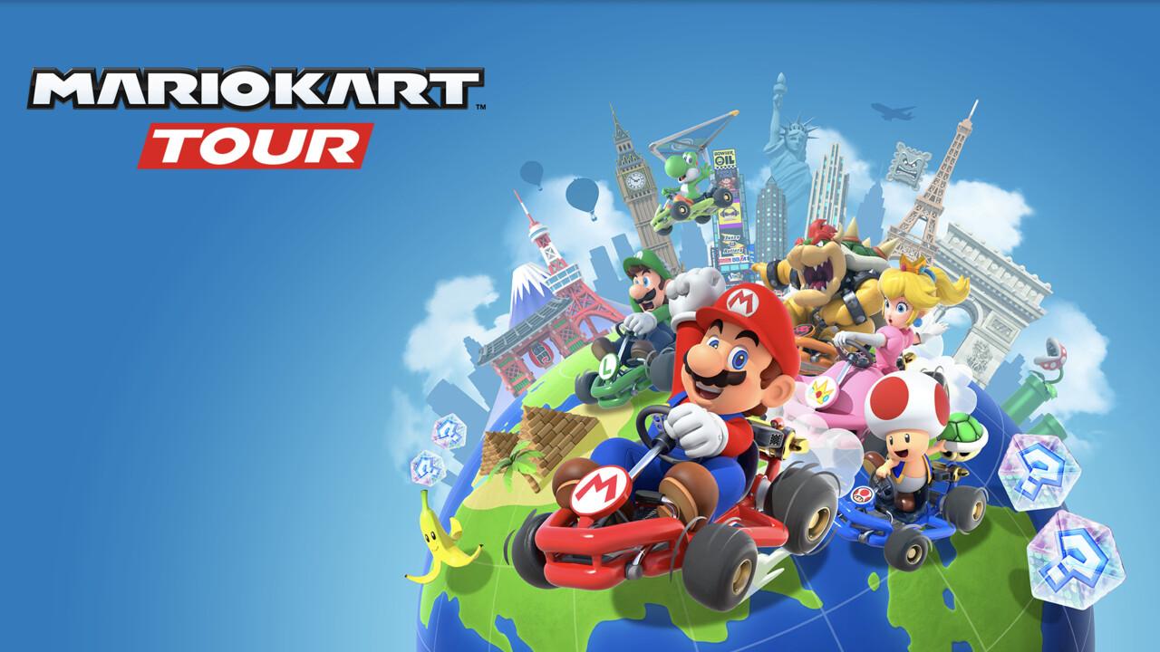 Nintendo: Mario Kart Tour erscheint am 25.9. für Android und iOS