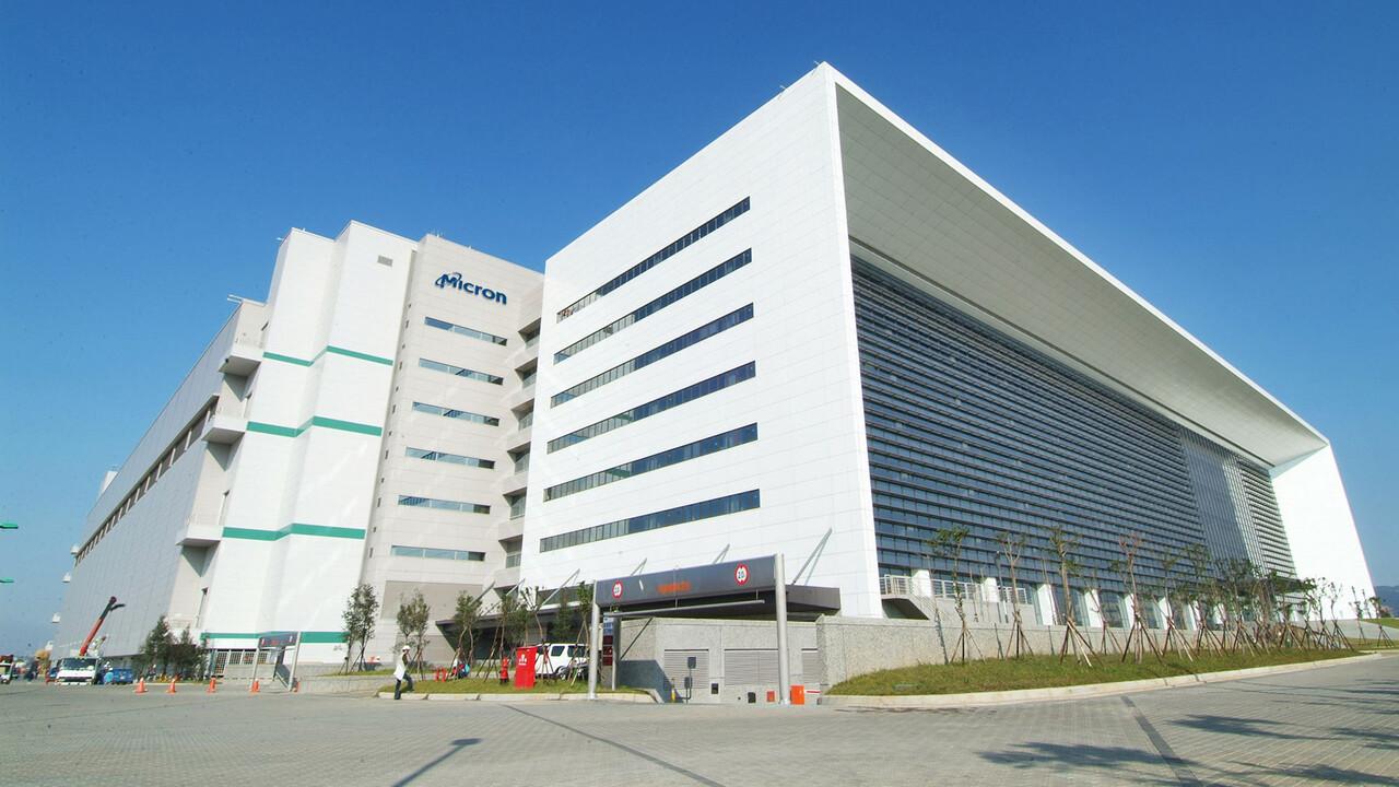 Technologieausbau: Micron erweitert Wafer-Fabrik in Taiwan