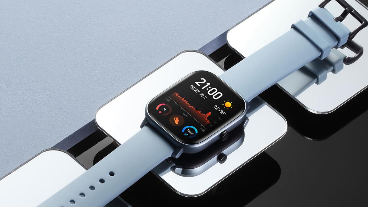 Xiaomi-Tochter: Amazfit-Smartwatch kopiert die Apple Watch für 115 Euro