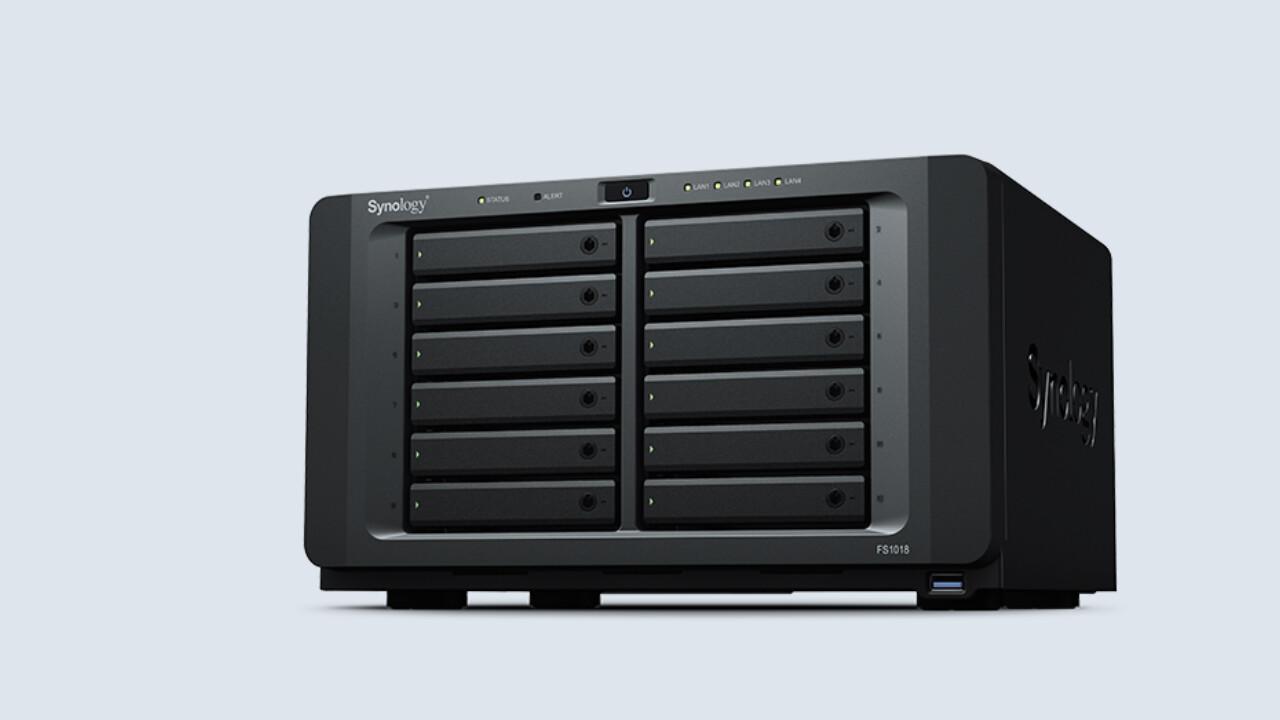 Synology: Vorschau auf neue NAS & Server mit bis zu 60 Einschüben