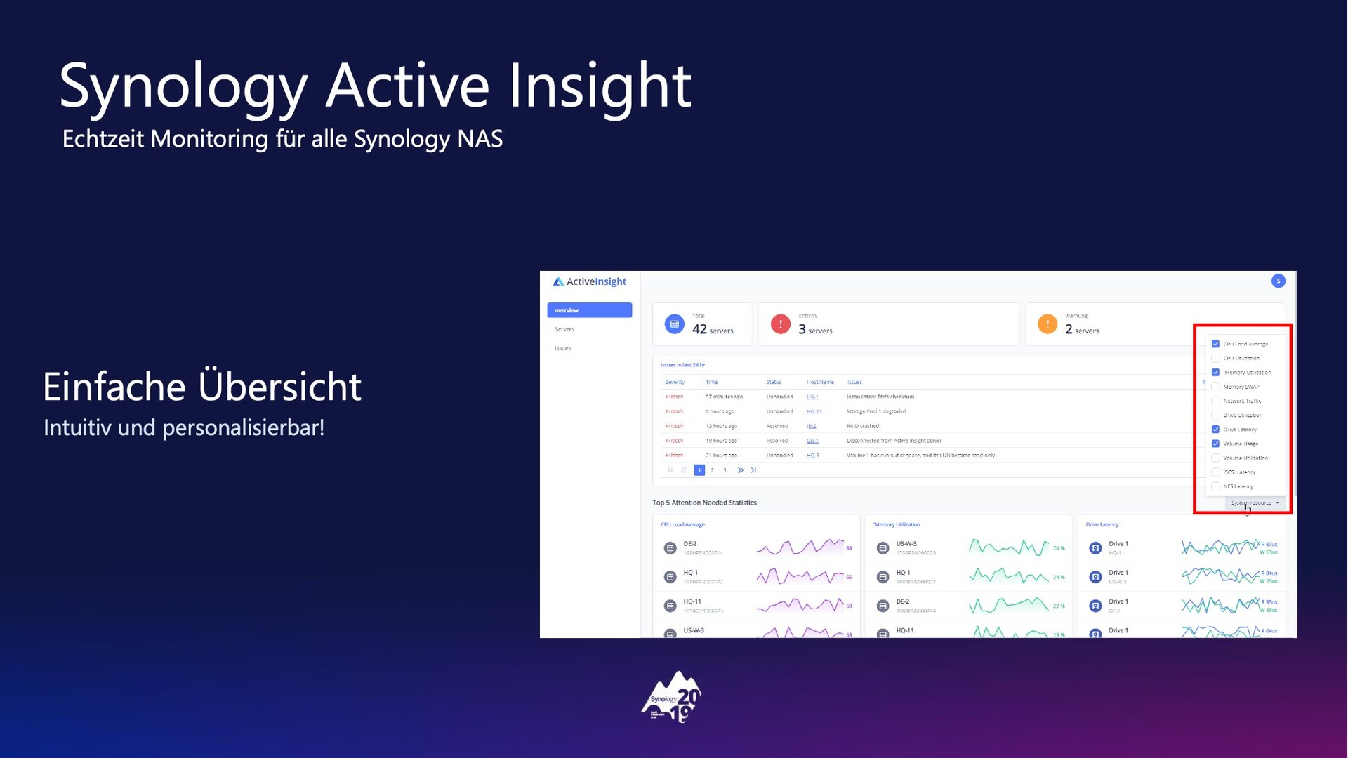DSM 7.0: Active Insight