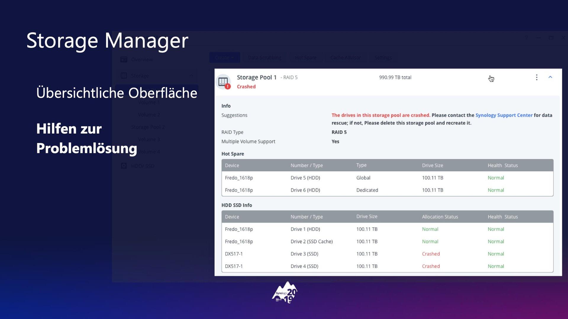 DSM 7.0: Storage Manager