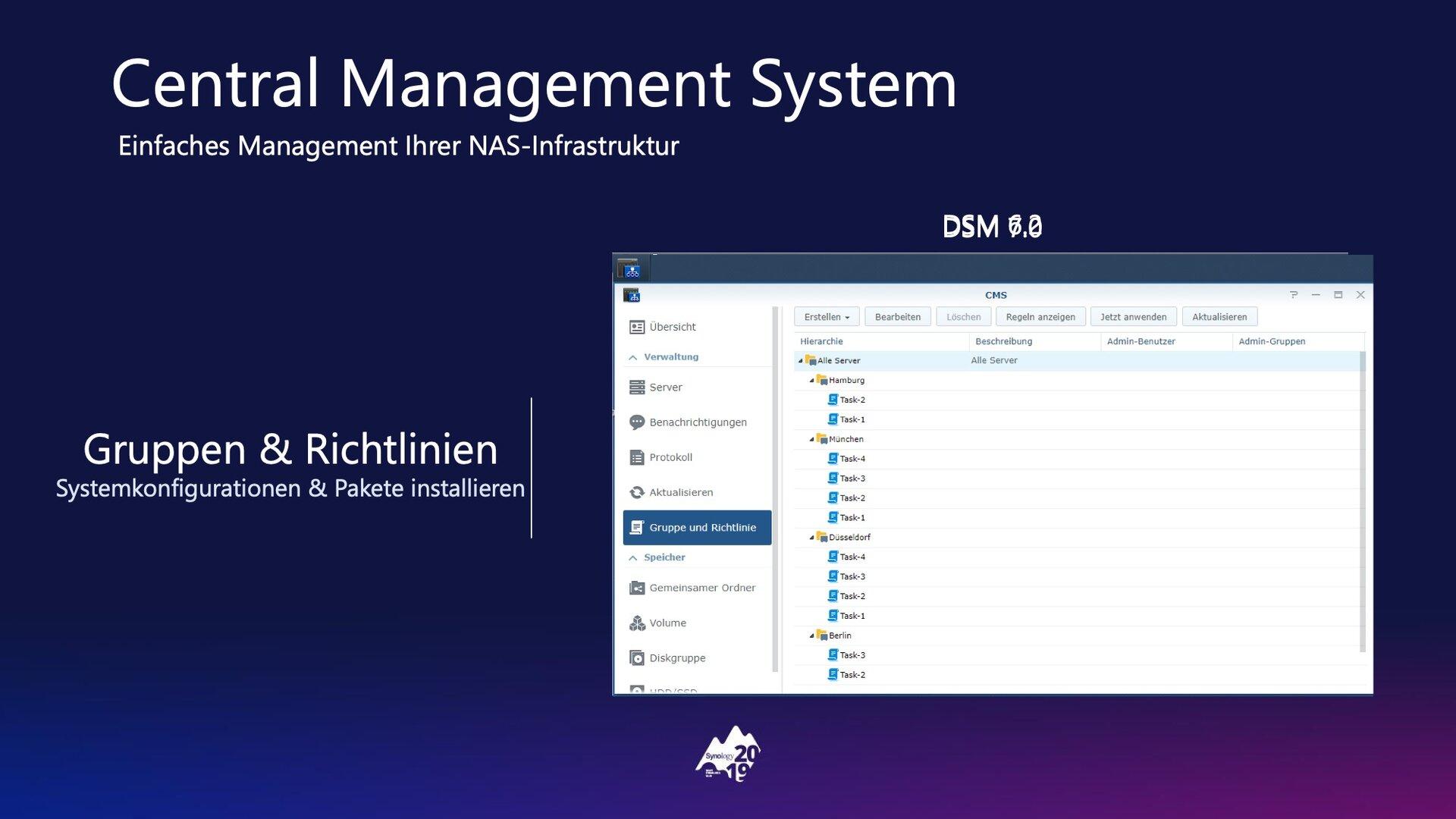 DSM 7.0: Central Management System