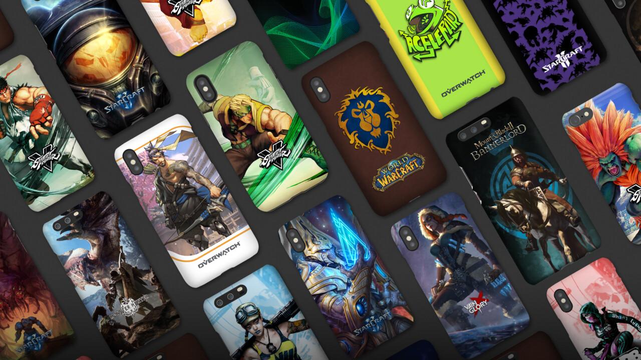 Razer Customs: Smartphone-Hüllen im Overwatch- und StarCraft-Design