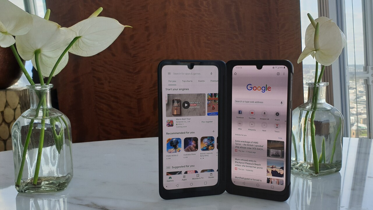 G8X ThinQ: LGs Dual-Screen-Smartphone für unter 1.000Euro