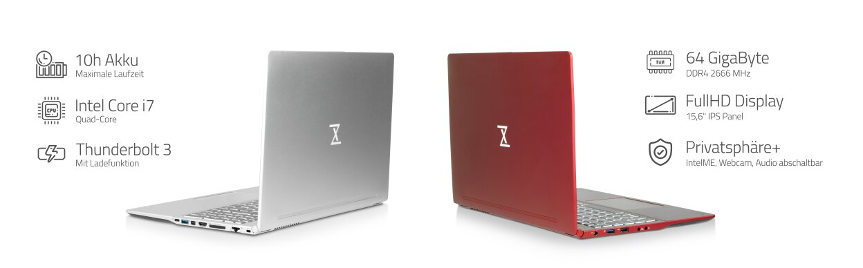 InfinityBook Pro mit Intel Comet Lake