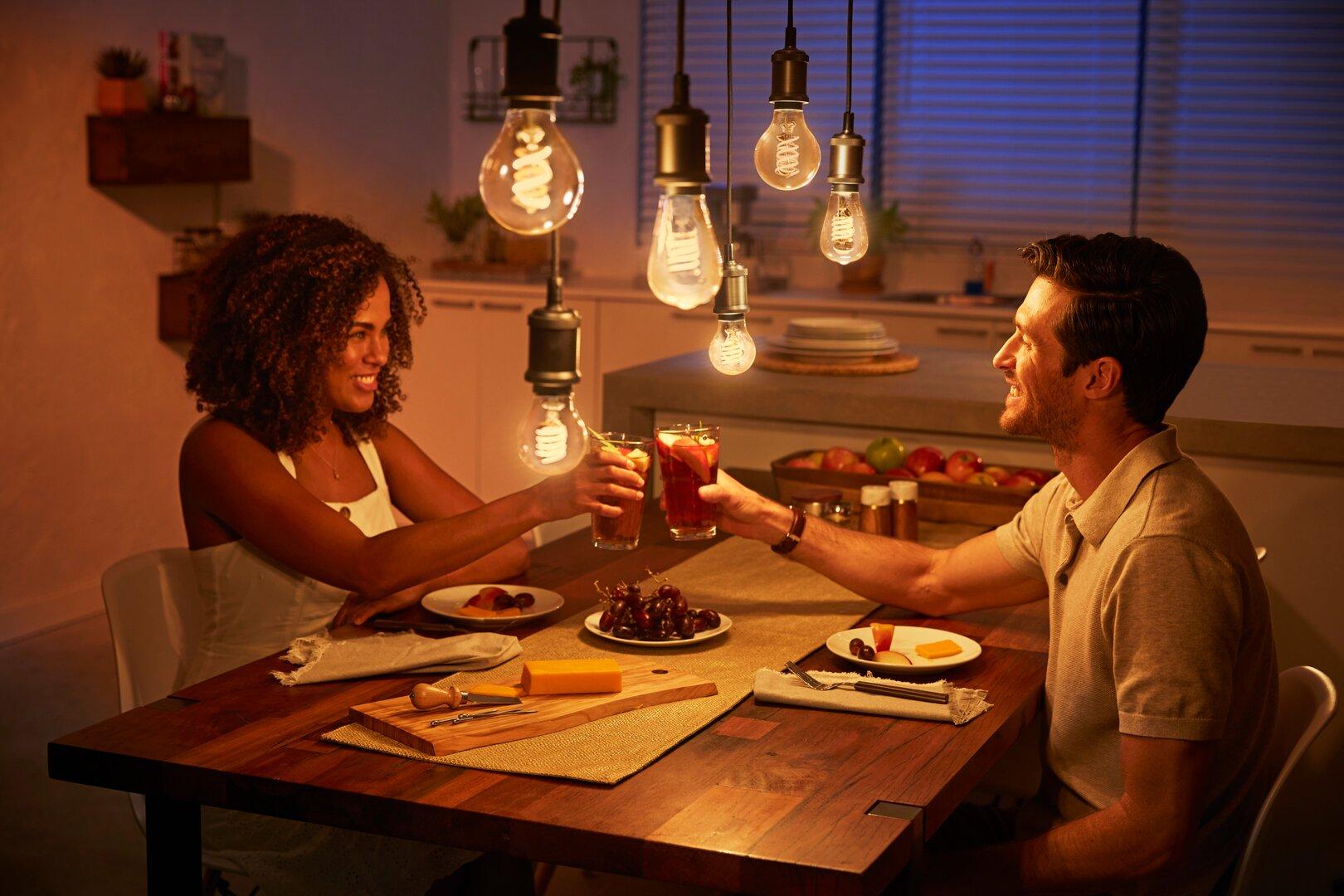 Philips Hue Filament Lampen