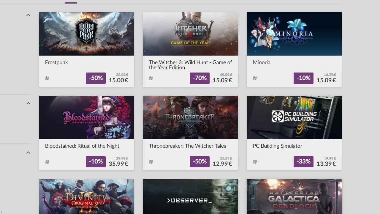 Back to School: Über 250 Spiele im Angebot bei GOG