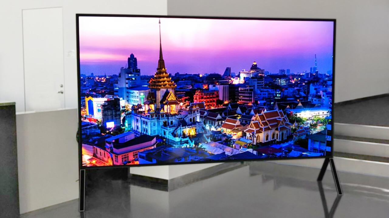 IFA: Sharp zeigt 8K-Fernseher mit 120Zoll und 5G-Anbindung