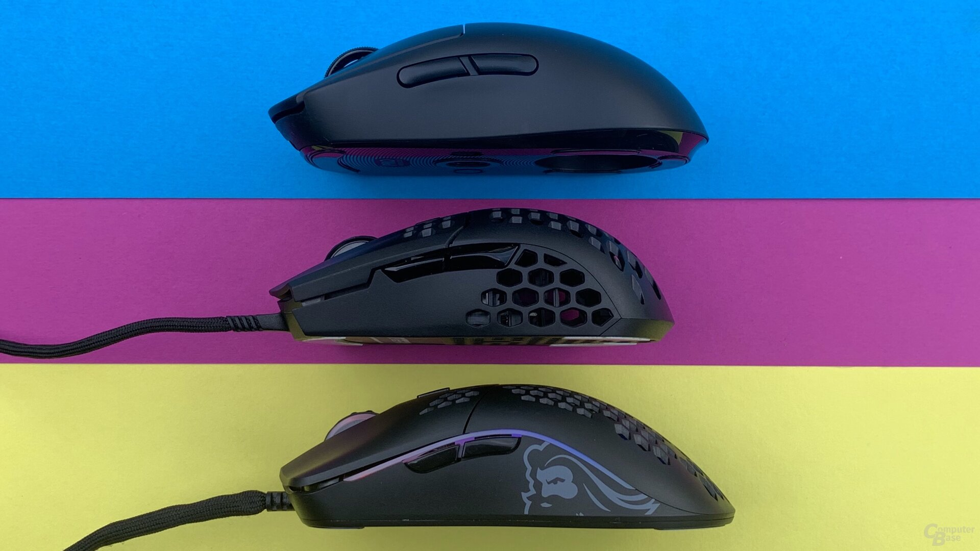 Logitech G Pro Wireless , Cooler Master MM710 & Glorious Model O