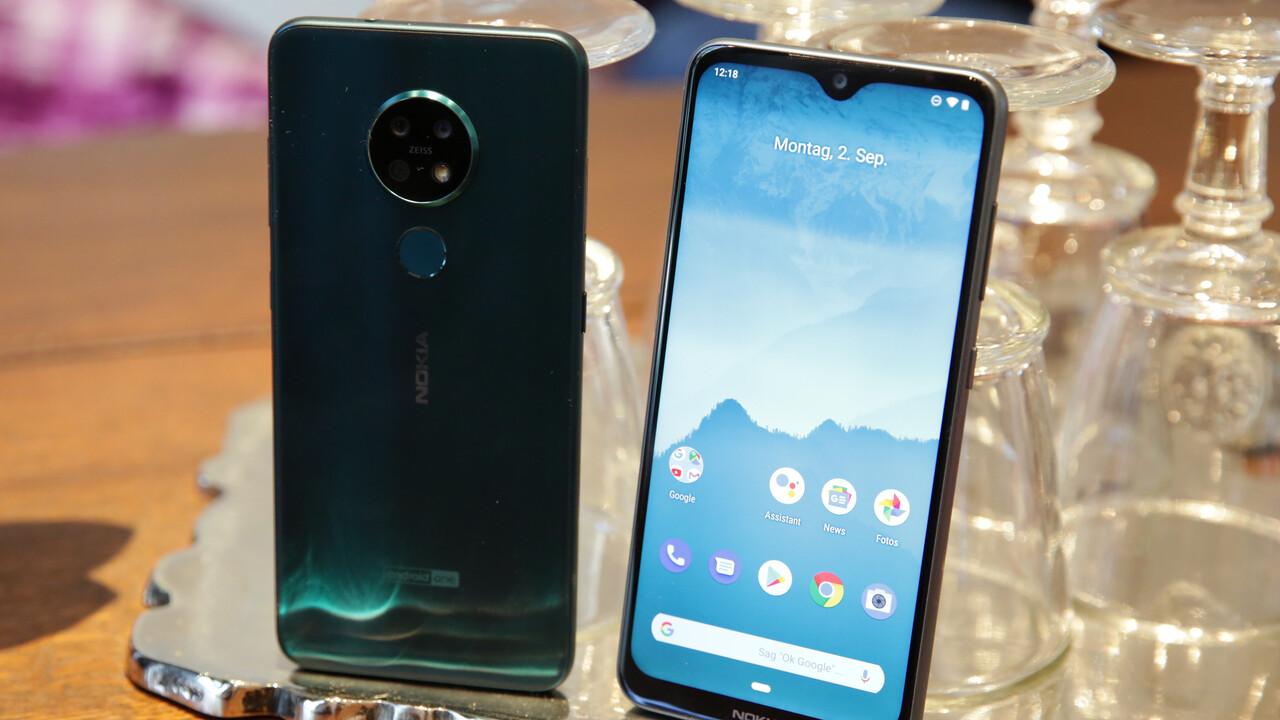 Android One: Nokia 6.2 und Nokia 7.2 mit Triple-Kamera ausprobiert