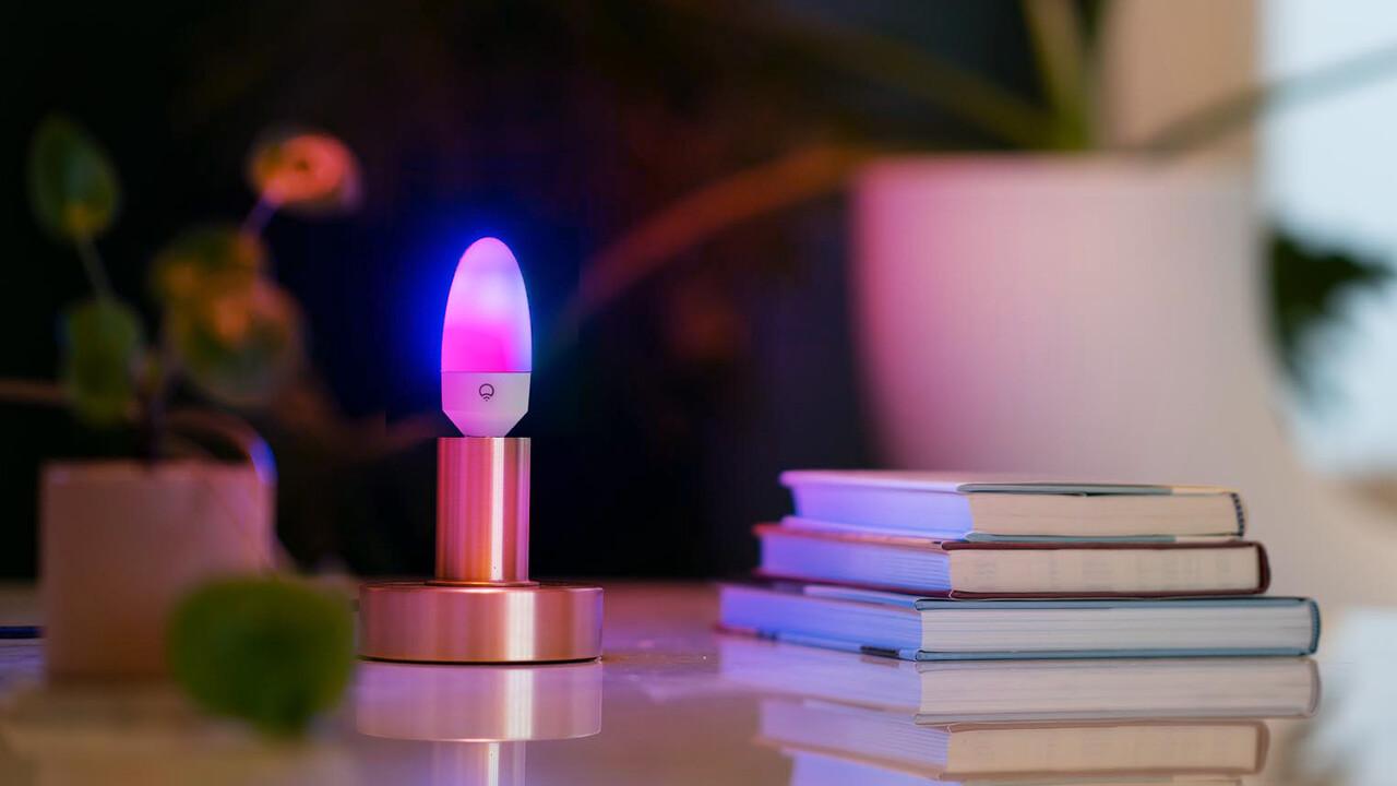 WLAN-Licht: Lifx zeigt Multi-Color-Kerze mit LED-Zonen und TV-Strip