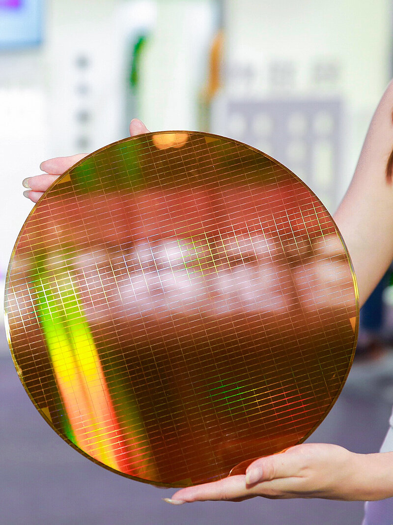 Wafer mit 3D-NAND-Chips