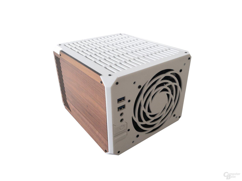Gehäuse mit Holzseite
