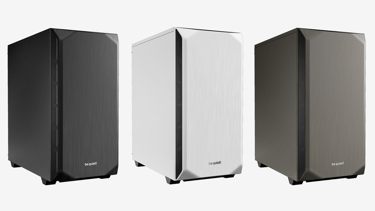 be quiet! Pure Base 500: Gedämmter Midi-Tower ist neues Einstiegsmodell