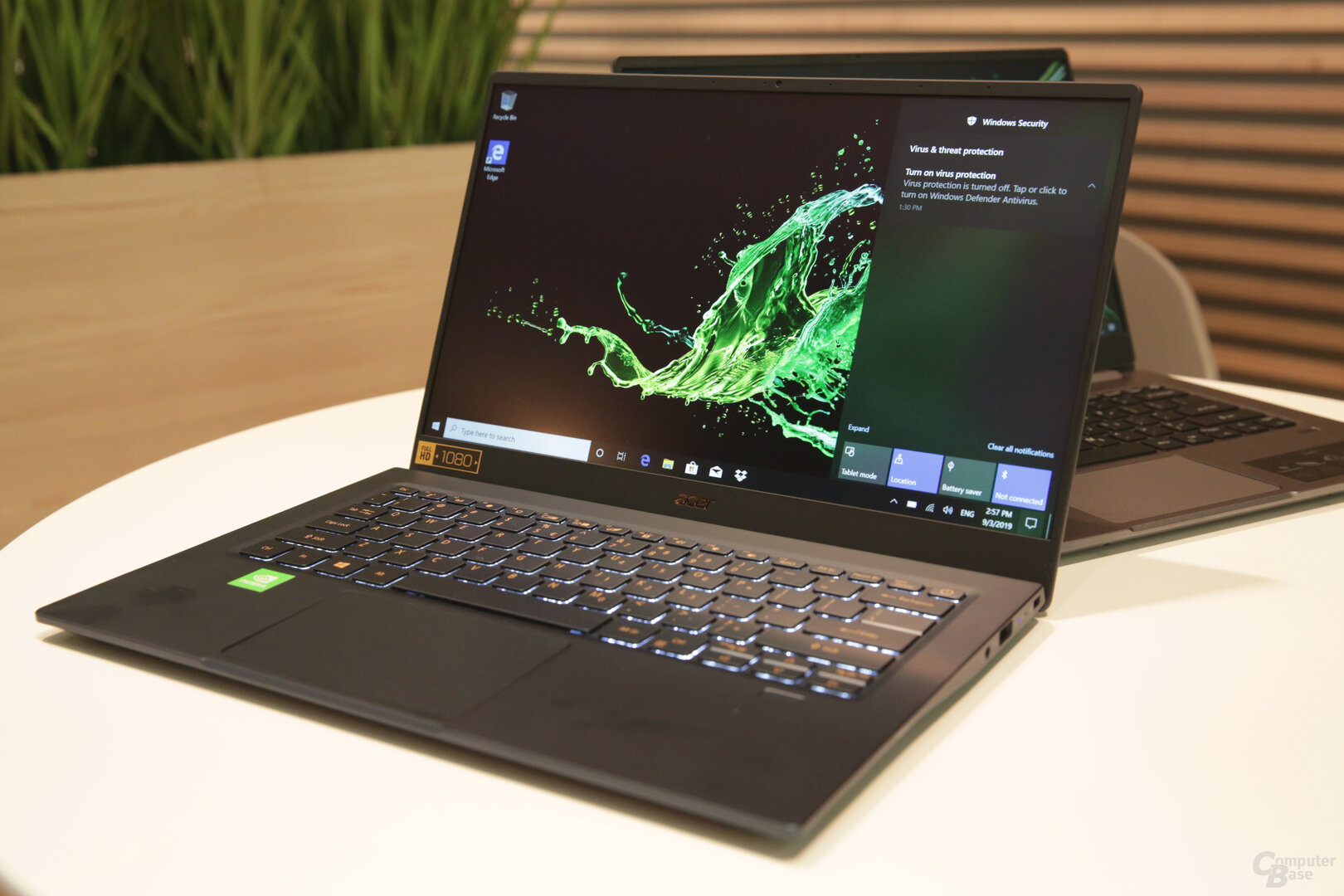Acer Swift 3 neben Swift 5