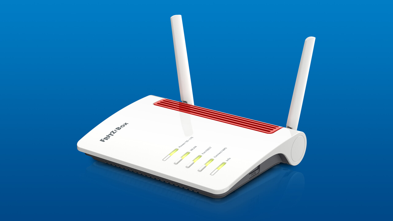 Fritz!Box 6850 5G: AVM präsentiert Router mit 5G-, 4G- und UMTS-Modem