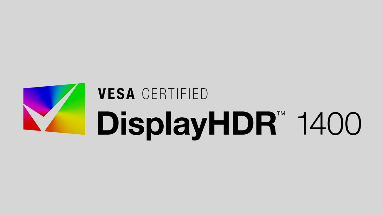 DisplayHDR 1400: VESA mit schärferen Standards und neuem High-End-Siegel