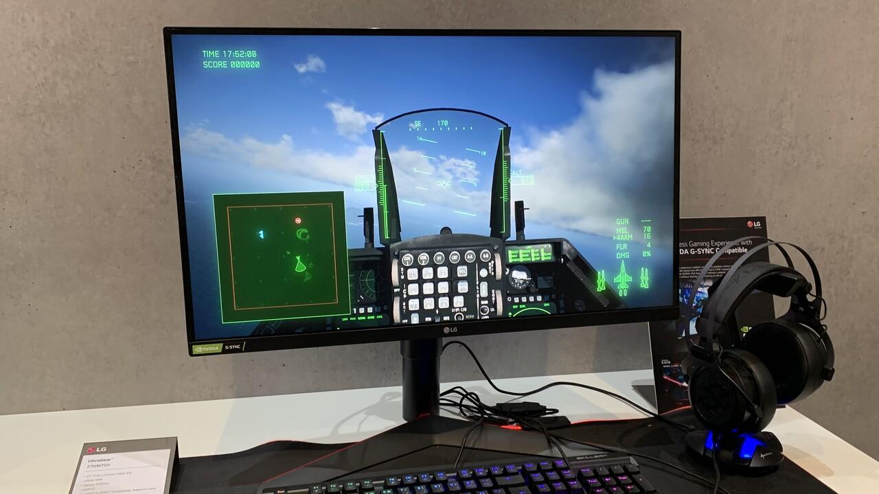 LG 27GN750: Neuer 27-Zoll-Gaming-Monitor mit IPS-Panel, 1ms und 240Hz