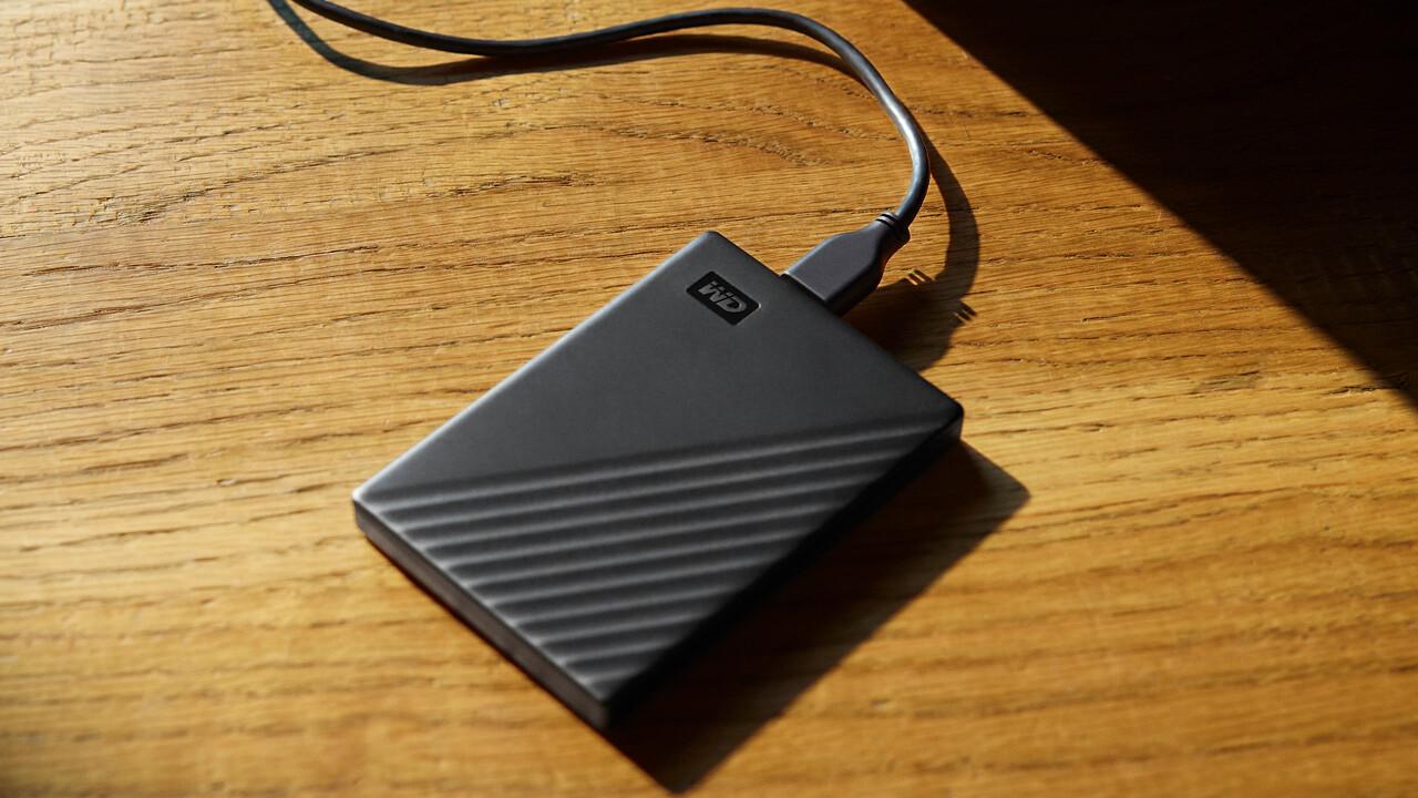 Western Digital: Externe My-Passport-HDD im neuen Design und mit 5TB