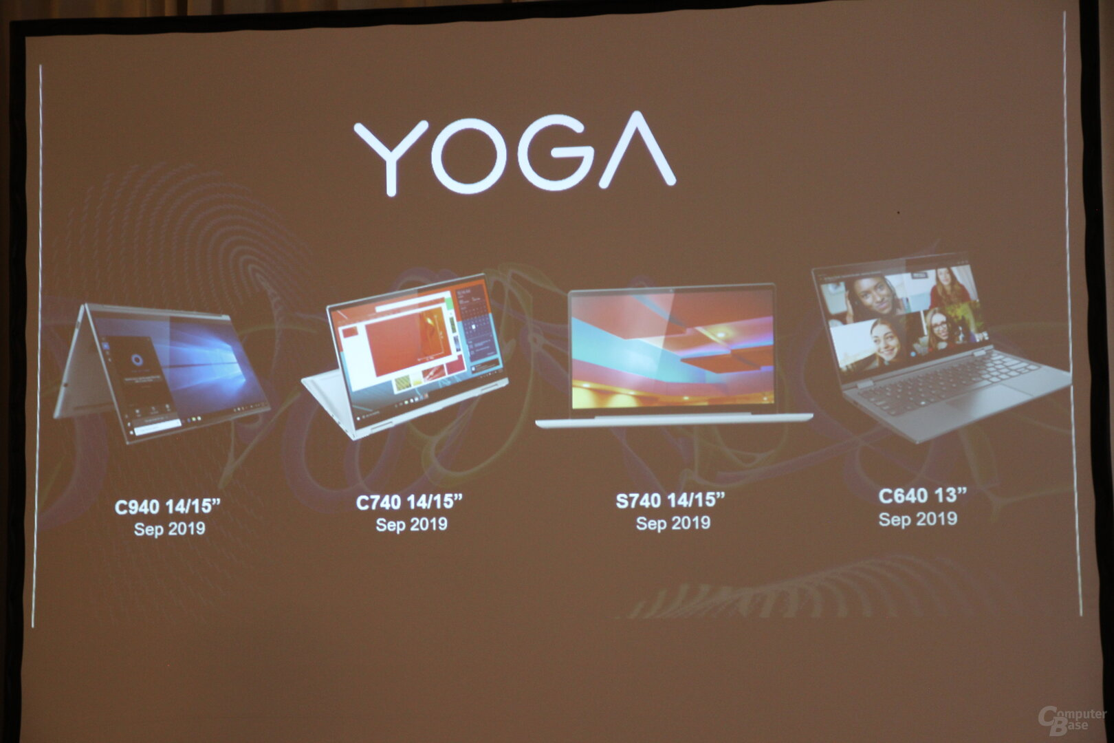 Lenovo Yoga-Refresh Ende 2019