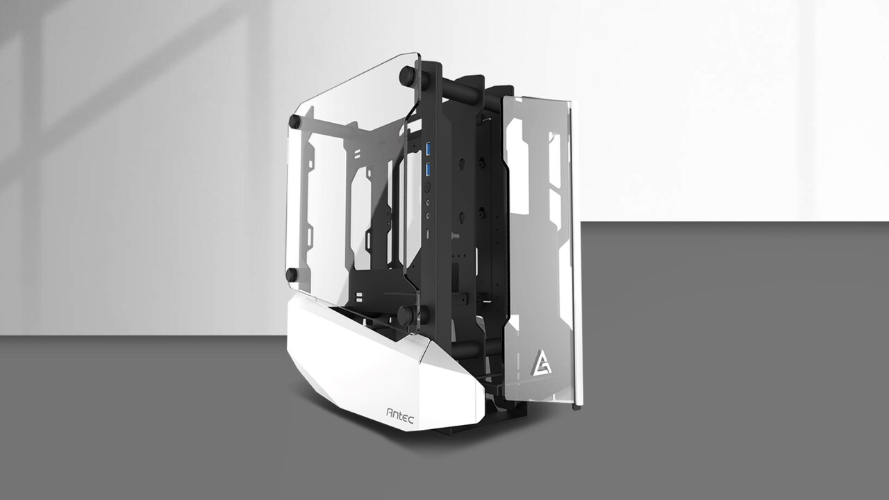 Antec Striker: Mini-ITX-Gehäuse setzt die Grafikkarte in die Front