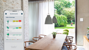 Tado: Smarte Heizungssteuerung rückt Luftqualität in den Fokus