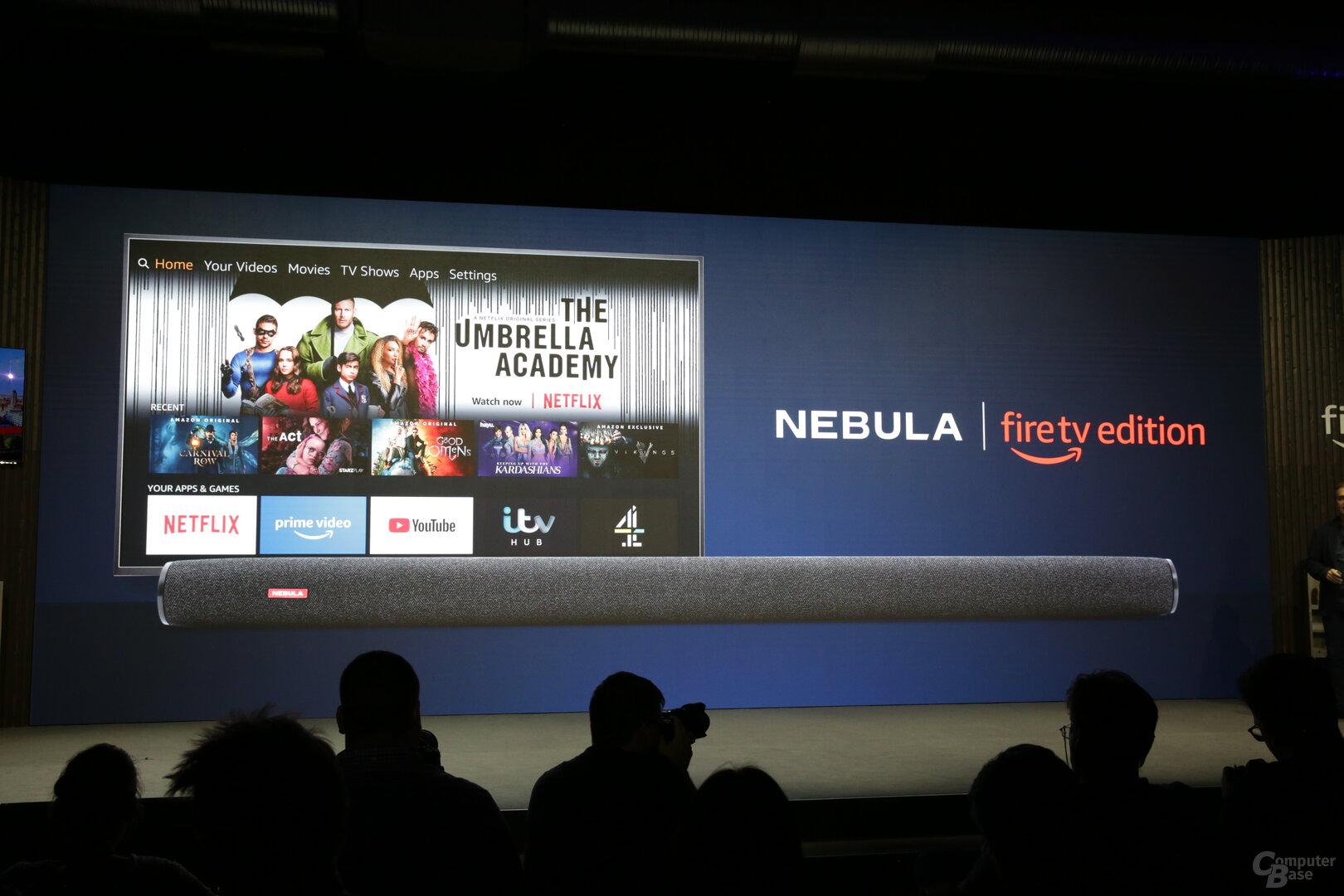 Nebula Soundbar als Fire TV Edition
