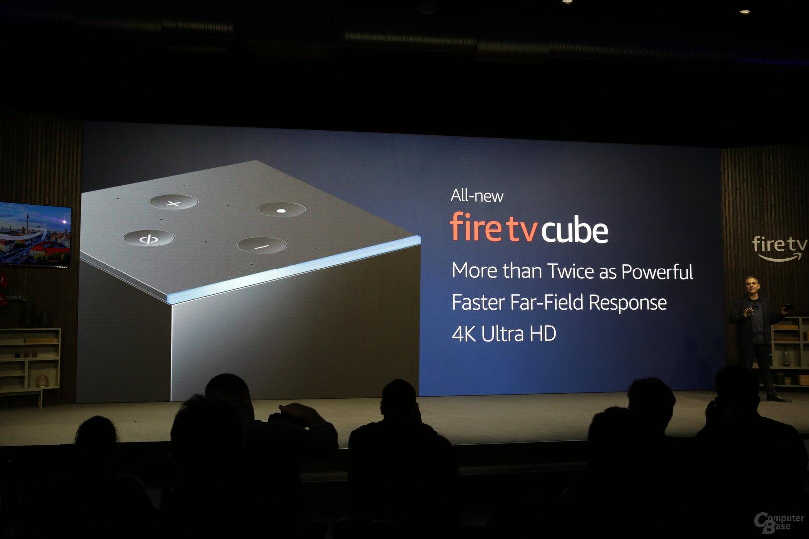 Neuer Fire TV Cube der zweiten Generation