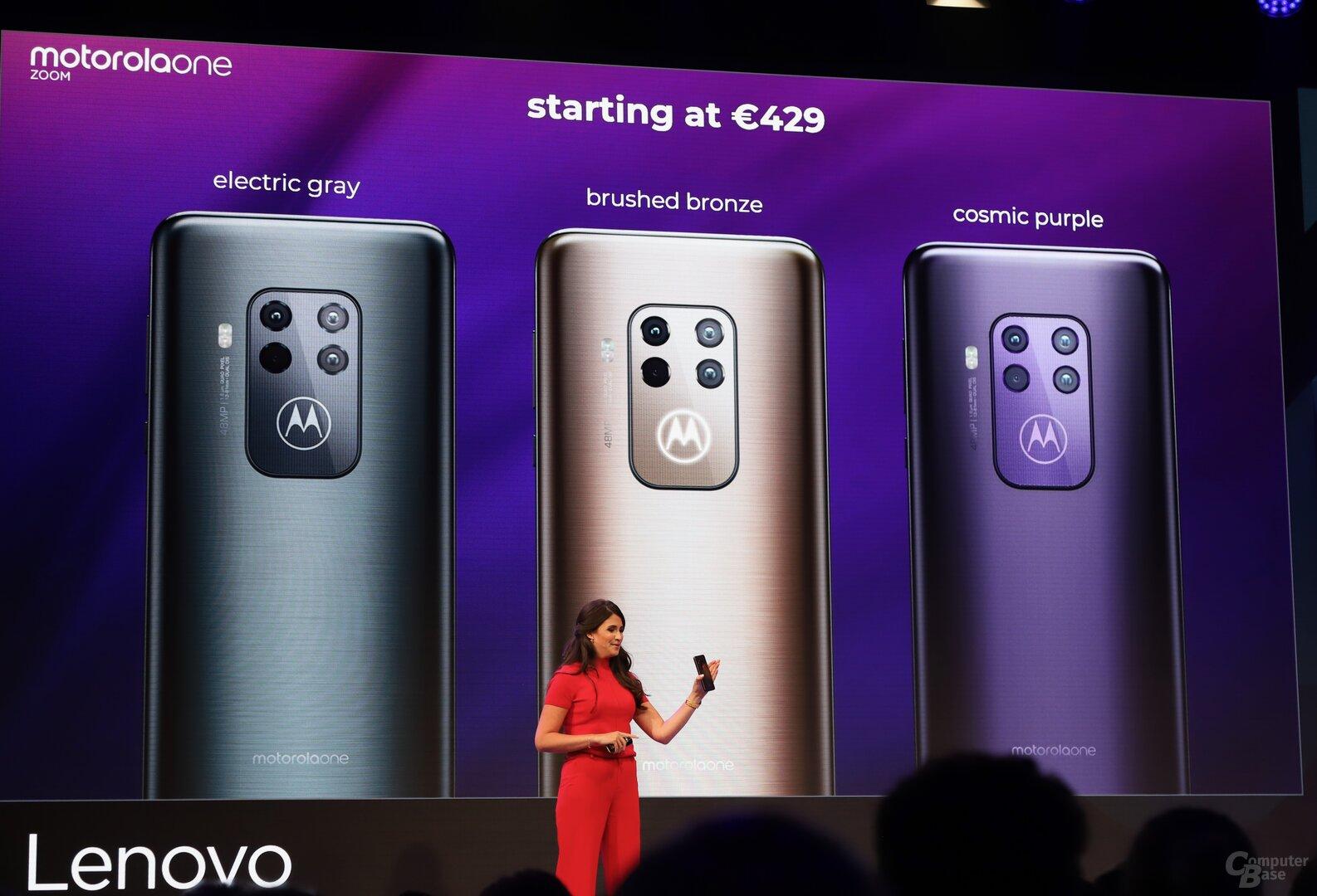 Das neue Motorola Moto Zoom