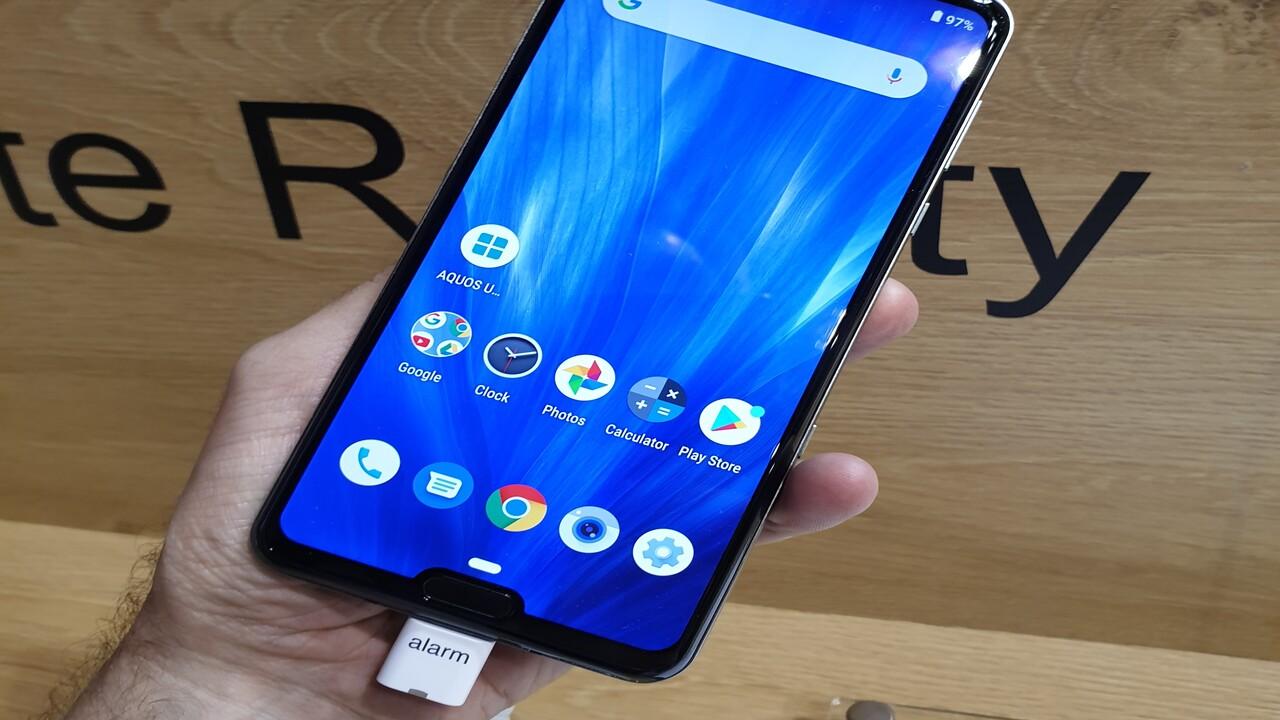 Sharp Aquos R3: High-End-Smartphone ab Q4 im deutschen Handel
