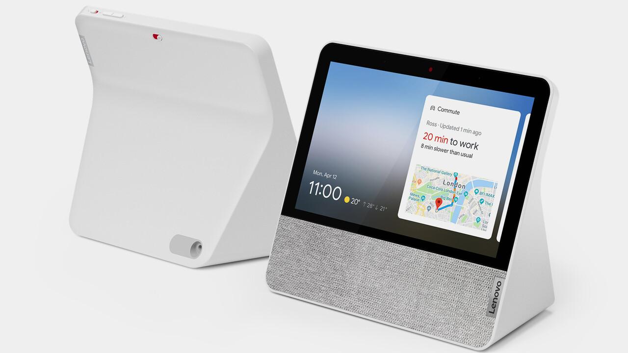 Lenovo Smart Display 7: Kompakterer Google Assistant mit mehr Funktionen