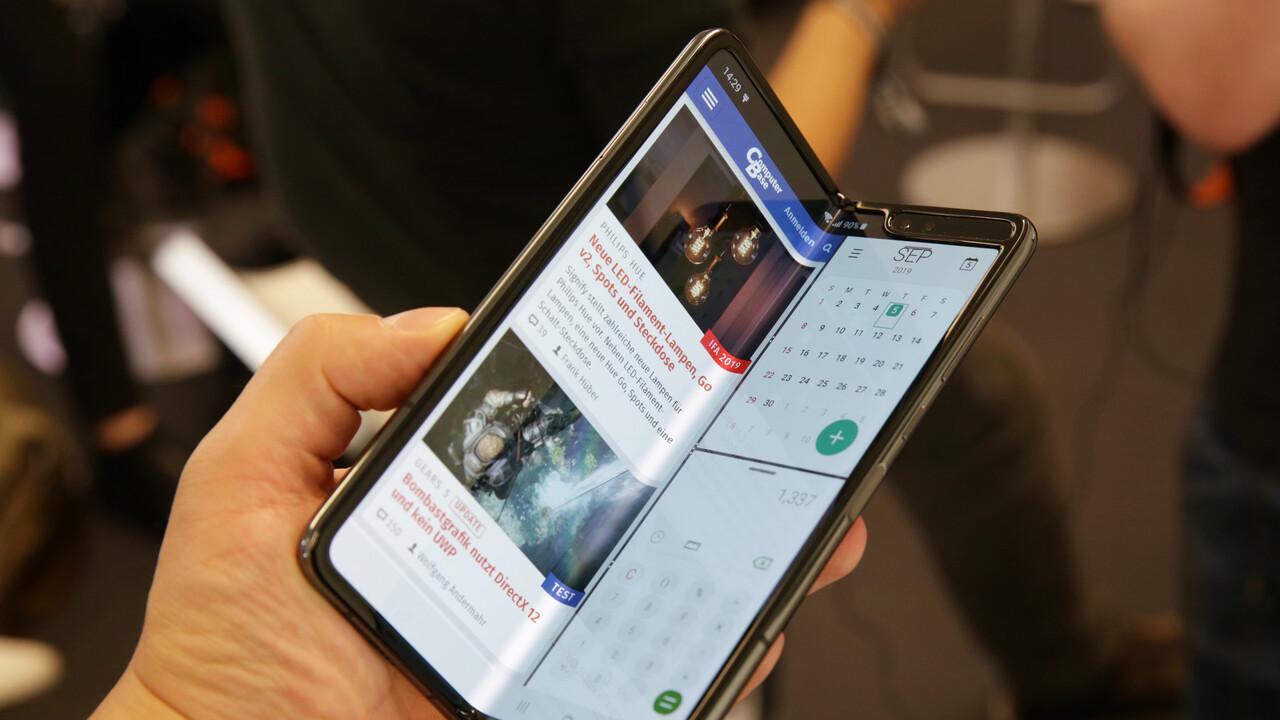 Galaxy Fold ausprobiert: Samsungs reparierte Zukunft des Smartphones