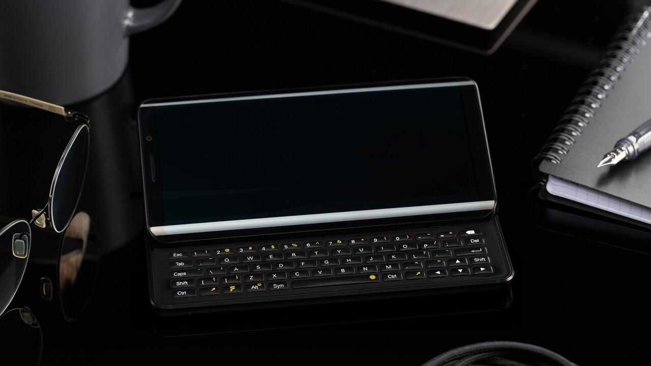 FX Tec Pro 1: Slider-Handy mit QWERTZ-Tastatur und altem SoC