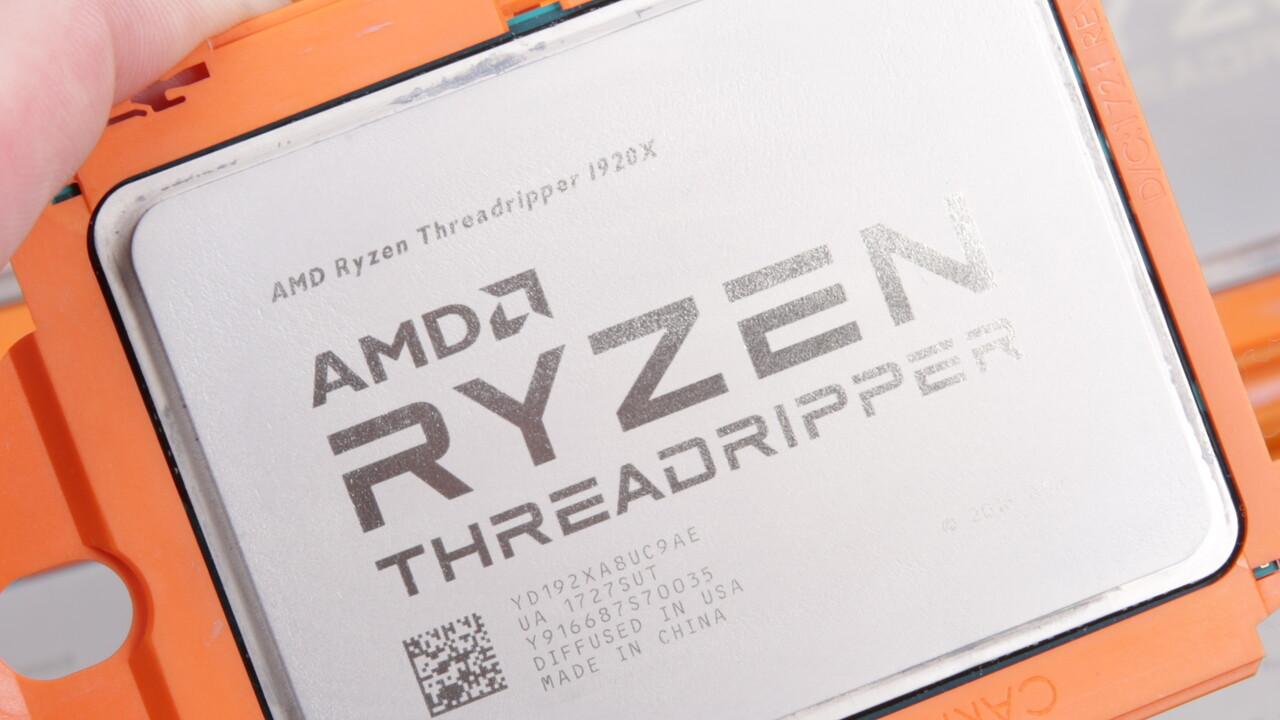 AMD Threadripper 3000: 8 DRAM-Channel für die Workstation, 4 für HEDT
