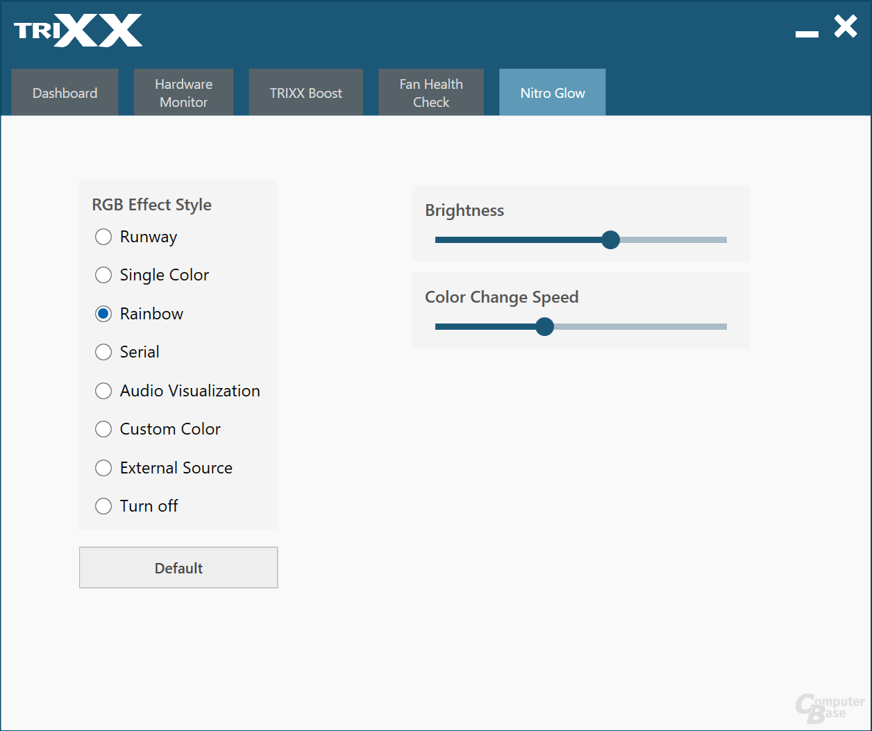 Sapphire Trixx auf der Radeon RX 5700 XT Nitro+